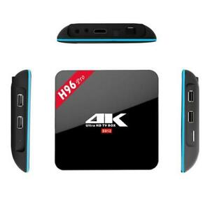 H96 Pro 4K Ultra HD Android Box (Android 7.1.2 , 3GB Ram) $150