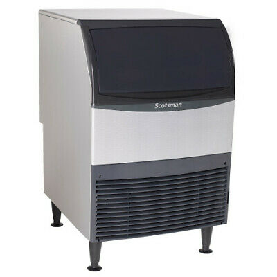 Scotsman Un324w-1 Nugget-style Water-cooled Ice Maker With Bin - 340 Lb24 Hr