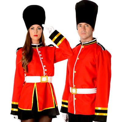 Royal Busby Guard Adults Fancy Dress National British London Uniform Costume (National Fancy Dress Kostüm)