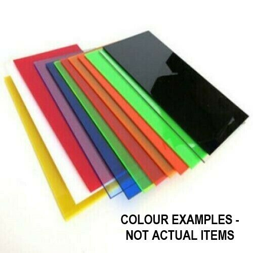 4kg of 3mm Acrylic Offcuts - Coloured or Opal Various Sized Plastic Panels