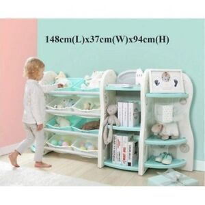 Children Bookshelf and Storage Organizer For Baby