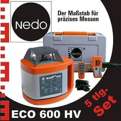 NEDO Rotationslaser Laser ECO600HV Baulaser ECO 600 HV Vollautomat NEU