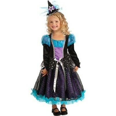 Starbright Witch girls Halloween costume small 4-6 NEW  FREE SHIPPING