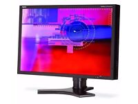 NEC MultiSync SpectraView 26 inch Widescreen High End Professional Graphics LCD Monitor 1920x1200