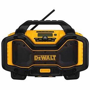 DEWALT DCR025r Chargeur radio Bluetooth DCR025 de DEWALT 20 V MAX flexvolts