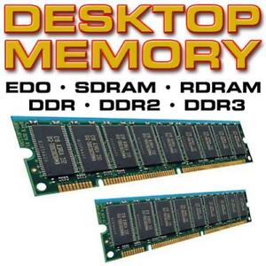 PC Rams 128Mb, 256mb, 512mb, 1GB, 2GB, 4GB, 8GB DDR, DDR2, DDR