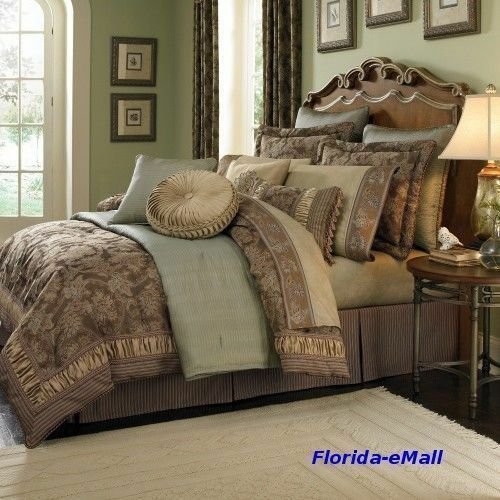 Croscill Marcella Euro Sham - Reversible -Exquisite Trim Detail!-nip! Msrp !