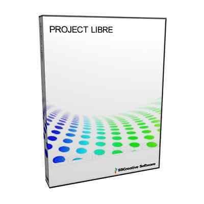 Project Libre Task Team Management 2013 2016 Microsoft MPP Compatible Software