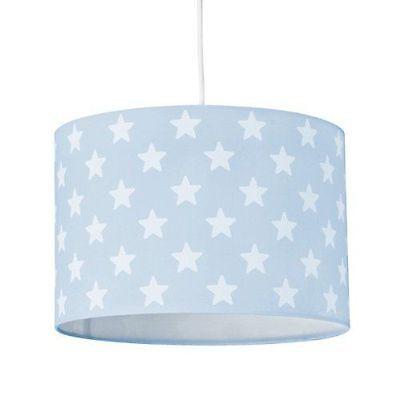 KIDS CONCEPT Deckenlampe STAR hellblau mit Sternen 30 x 20 cm NEU