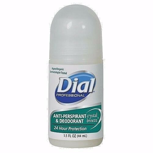 DIAL ANTI-PERSPIRANT & DEODORANT Roll-On Crystal Breeze Hypoallergenic