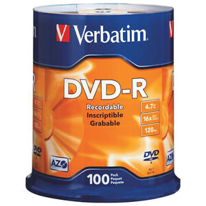 Verbatim 16X 4.7GB DVD-R - 100 Pack  http://www.staples.ca/en/Ve