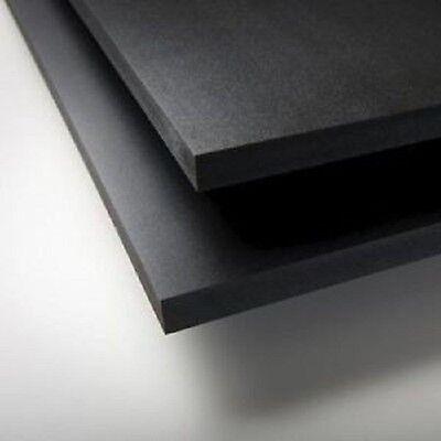 Black Sintra Pvc Foam Board Plastic Sheets 2mm 12 X 12