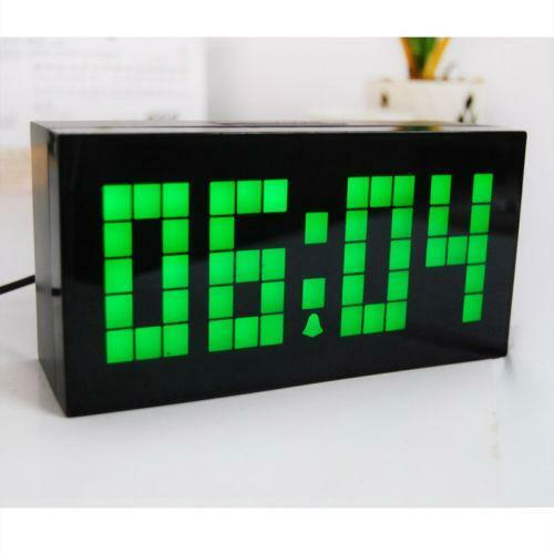 Small Digital Alarm Clock Ebay