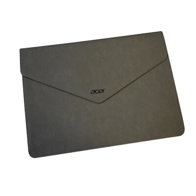 Genuine Acer Aspire S7-391 S7-392 Laptop Grey Leather Envelope Bag