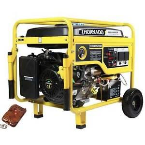 Thornado 7500W 7.5KVA Petrol Power Generator 18HP Remote Ke Start Chipping Norton Liverpool Area Preview