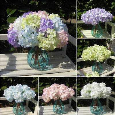 Wedding Bridal Party Home Decor Artificial Hydrangea ...