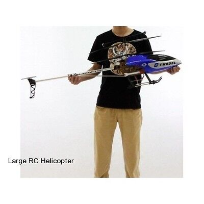 In a body Outdoor Remote Control 53 Inch Helicopter RC 2 Speed 3.5 CH Air Craft Gift