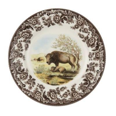 New Spode Woodland & Delamere Salad Plate (Bison)