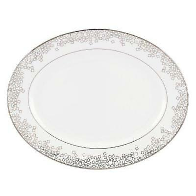 Lenox Gluckstein Starlet Silver  13 Inch Platter New