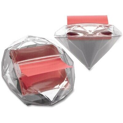 Post-it Pop-up Notes Dispenser For 3 X 3-inch Notes Clear Diamond Shape.