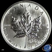 1999 Silver Maple Leaf