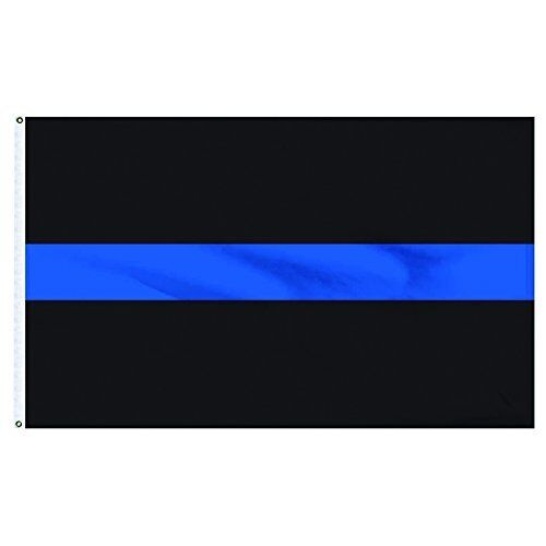 3x5 Thin Blue Line Flag Police Law Enforcement Officer LEO L