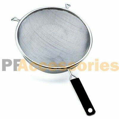 "5.5"" Stainless Steel Kitchen Cooking Mesh Strainer Colander"
