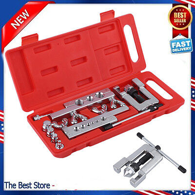 Heavy Duty Steel Tubing Flaring Swaging Tool Kit 45traditional Extrusion Type