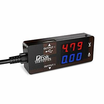 Drok-300043 Digital Multimeter Usb 2.0 Multifunctional Electrical Tester Capacit