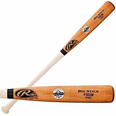 Rawlings P302M Maple Pro Preferred Wood Baseball Bat (Size 33.5-Inch)
