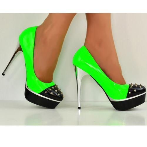Neon Green High Heels | eBay