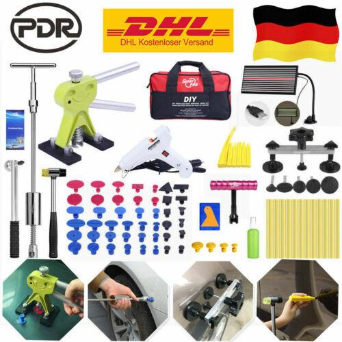 PDR Dellenlifter Set Ausbeulwerkzeug Gleithammer Ausbeulset Dellenentfernung Kit