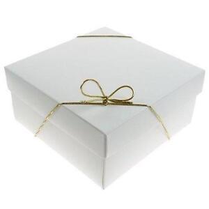 white gift box ebay. Black Bedroom Furniture Sets. Home Design Ideas