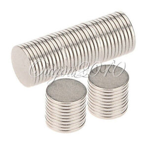 50pcs Disc Rare Earth Neodymium Super strong Magnet N35 Craft Models 10mm x 1mm