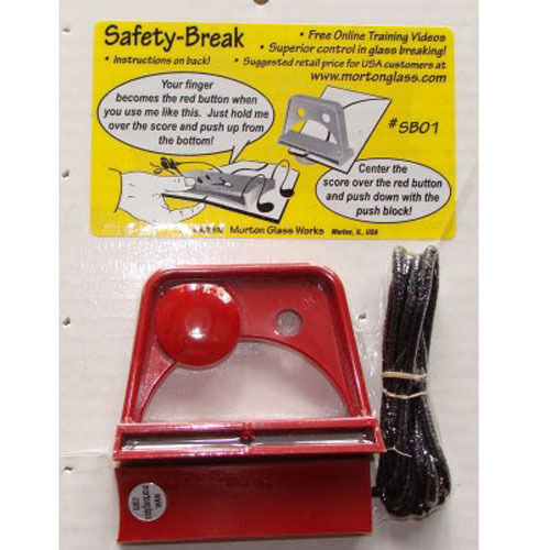 Glass Breaking System ~ MORTON Safety Break SB01 has Running AND Breaking Tools
