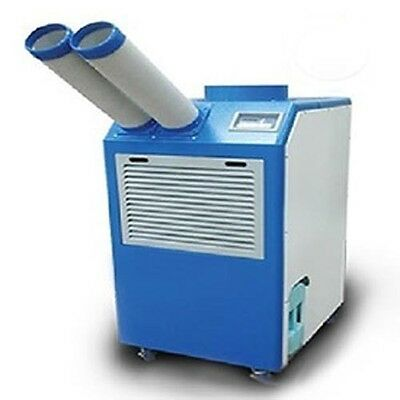Portable Air Conditioner 16,800 BTU - Heater 18,500 BTU - 120 Volt - Dual Nozzle