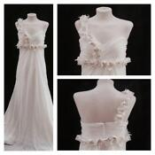 Chiffon Empire Wedding Dress