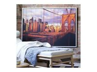 **MUST GO THIS WEEKEND** FREE New York Brooklyn Bridge canvas