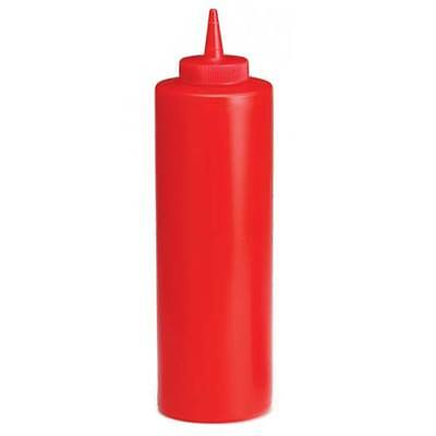 Value Series Csb-12-r Squeeze Dispenser Red 12 Oz. Ketchup Dispenser 12cs