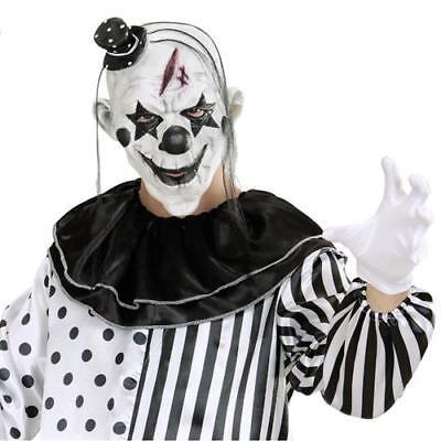 Halloween Psycho Maske (KILLER CLOWN MASKE Horror Psycho Halloween Latexmaske Halloweenmaske #848)