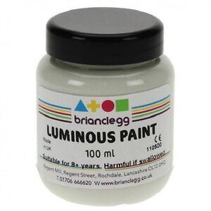 Luminous Glow in the Dark Paint 100 ml Pet jar
