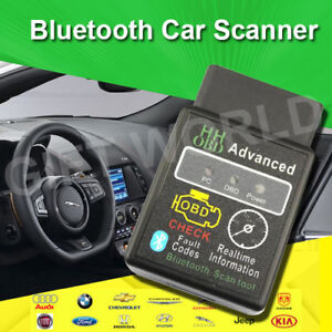 Universal Bluetooth OBD II scan,diagnose and clear codes NEW