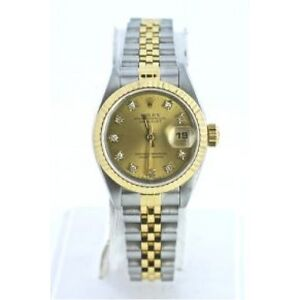 ROLEX Ladies Oyster Perpetual Datejust Jubilee Bracelet PERFECT