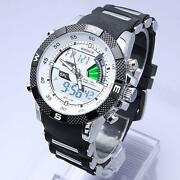 Mens Waterproof Digital Watch