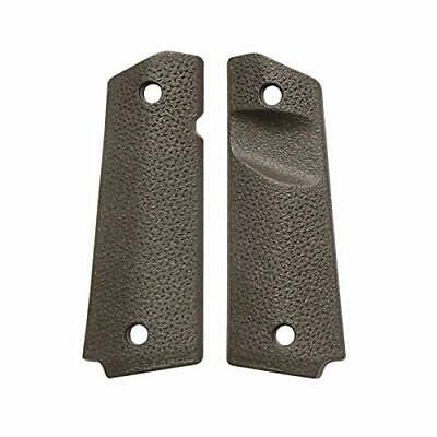 Textured 1911 Pistol Grip Replacement w/ Thumb Relief for Better Firearm