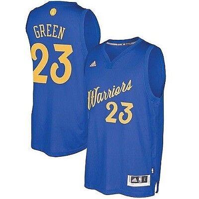 387dec28c6b7 Draymond Green  23 Golden State Warriors Adidas Xmas Day NBA Swingman Jersey  M