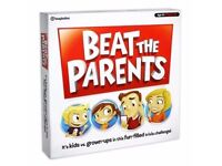 BOARD GAME BEAT THE PARANTS BRAND NEW.
