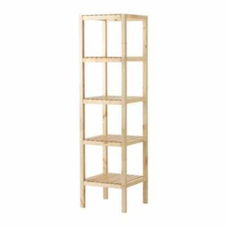 IKEA MOLGER Shelving Unit and BEKVAM Step Stool Chatswood West Willoughby Area Preview
