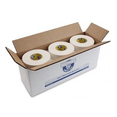 "Bulk Hockey Tape - 12 Rolls of White Howies Cloth Hockey Stick Tape 1""X25 yds"