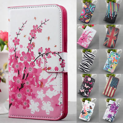 Magnetic Flip PU Leather Wallet Stand Case Cover For Samsung Galaxy S3 4 5 Note - Samsung S3 Case
